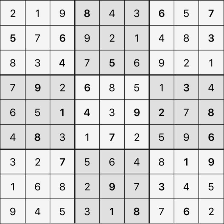 Sudoku's Round – Round 5 – Puzzle 2
