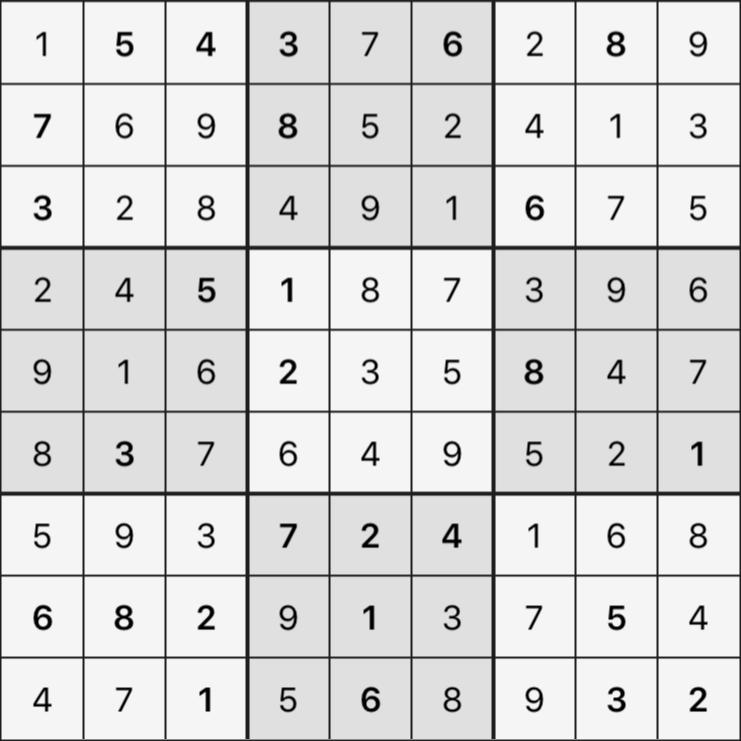 Sudoku's Round – Round 5 – Puzzle 4