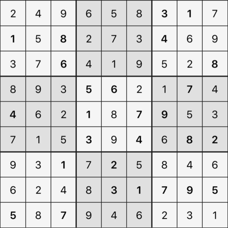 Sudoku's Round – Round 5 – Puzzle 8