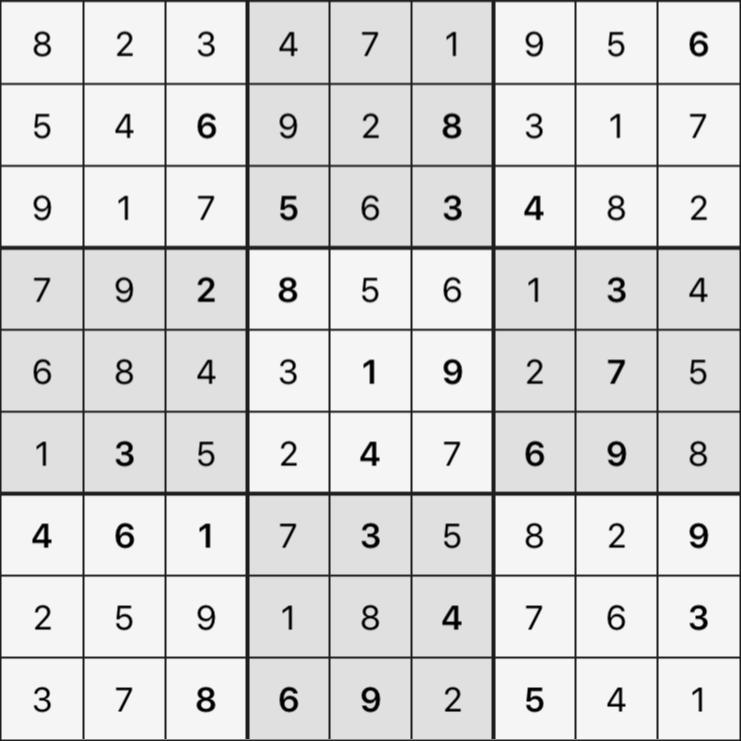 Sudoku's Round – Round 6 – Puzzle 7