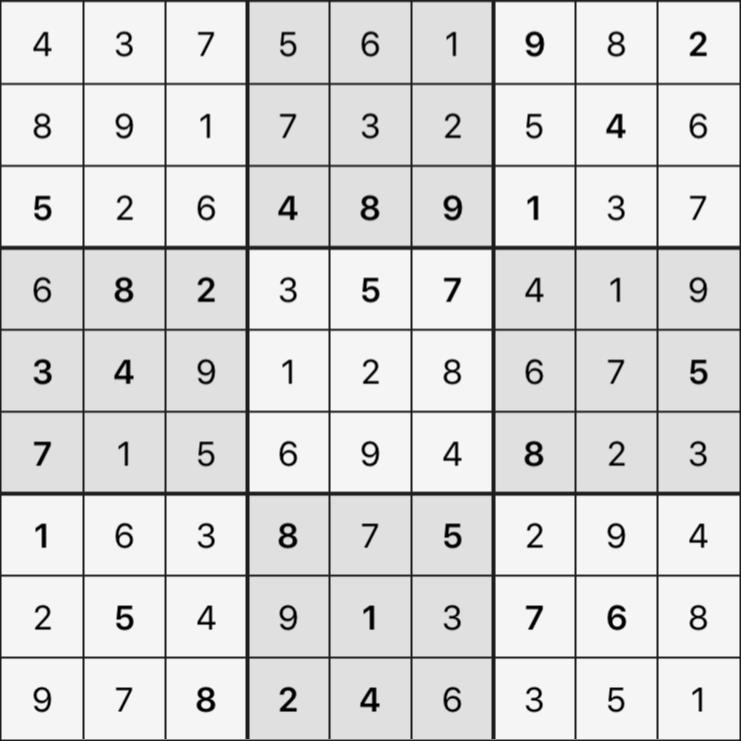 Sudoku's Round – Round 6 – Puzzle 8