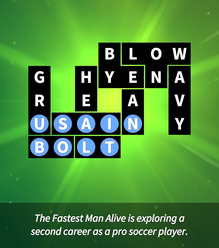 Flow Fit – Word Puzzle – Celebrities – Easy – Athletes – Level 20
