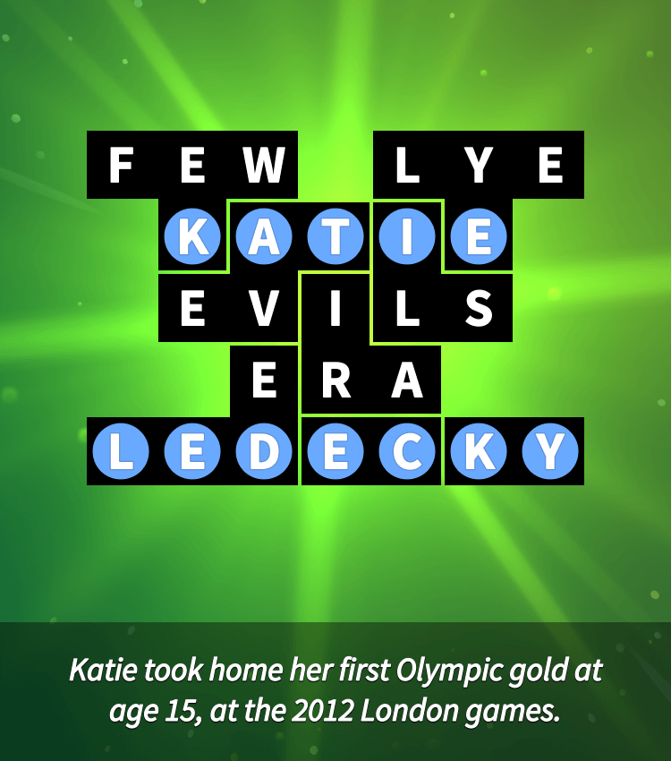 Flow Fit – Word Puzzle – Celebrities – Easy – Athletes – Level 23