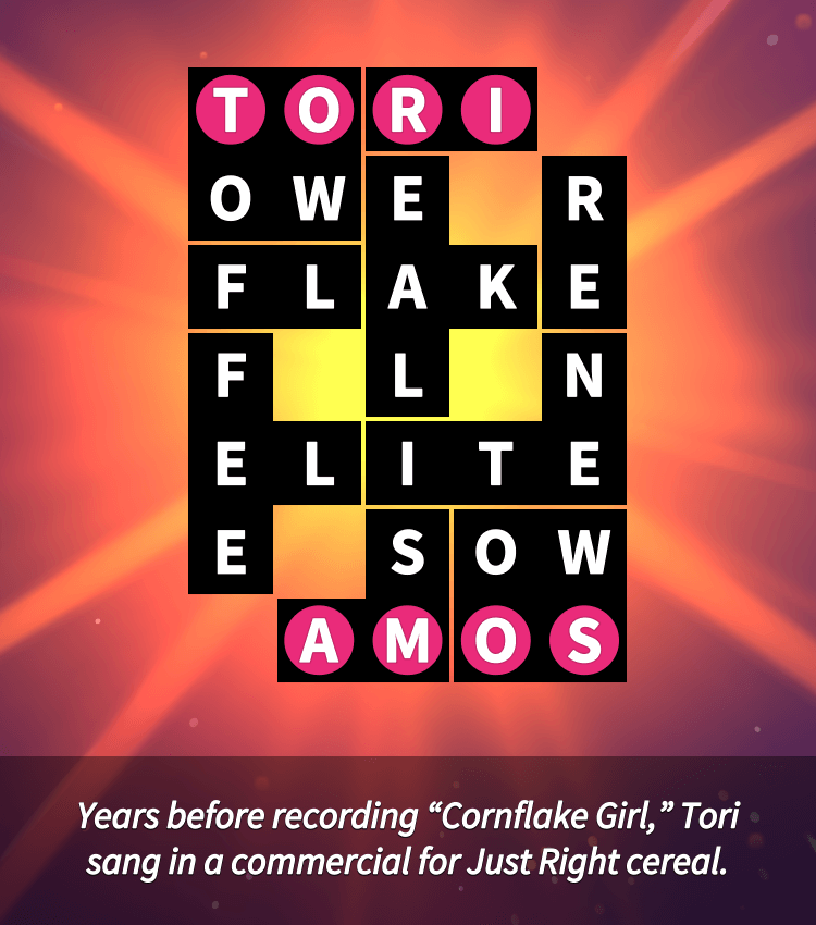 Flow Fit – Word Puzzle – Celebrities – Easy – Musicians – Level 5